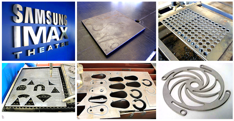 Plasma cutting machine sample