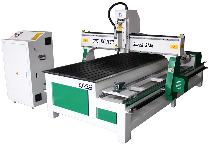Superstar CNC CX - 1325 Woodworking Side Cylindrical Engraving Machine